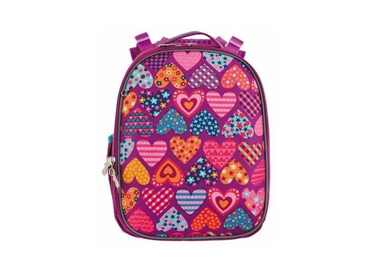 Рюкзак каркасный 1 Вересня. H-25 Heart puzzle