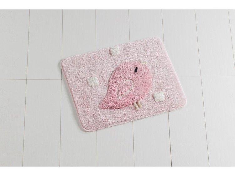 Коврик для ванной Chilai Home. BIRDIE PINK маленький