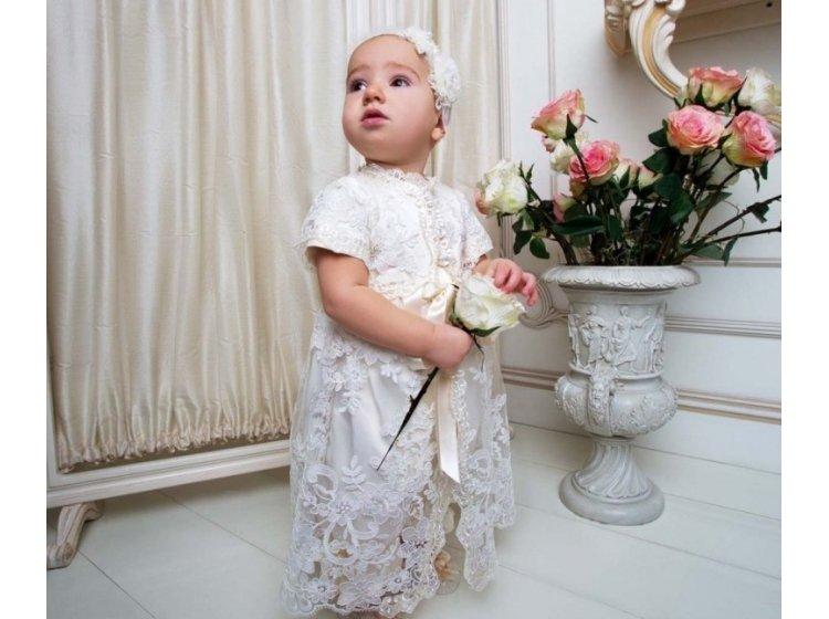 Платье Mimino baby. Лиза молочное