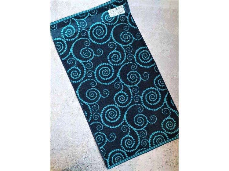 Махровое полотенце Речицкий текстиль. Луар синее