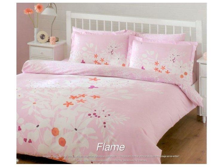 Постельное белье TAC. Flame розового цвета