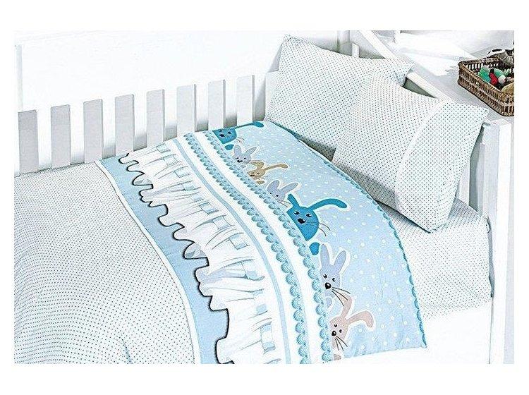 Постельное белье в детскую кроватку First Choice. Ginny MAVI