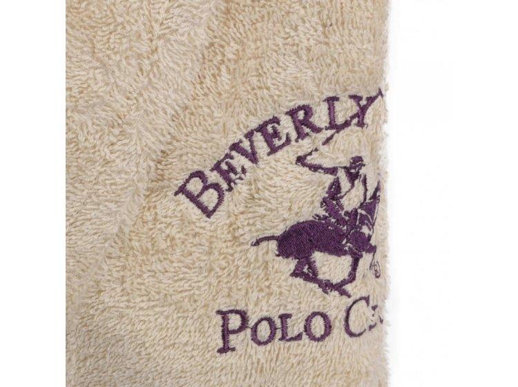 Халат махровый Beverli Hills Polo Club. 355BHP1704 krem