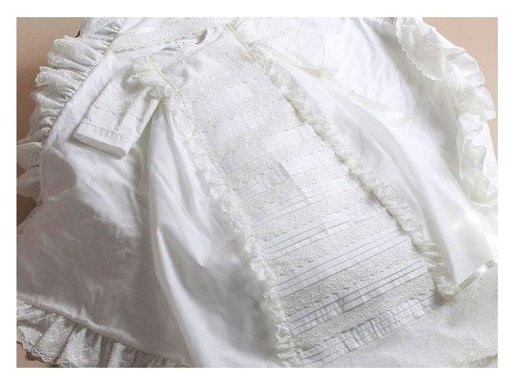Рубашка крестильная  Mimino baby. Семейные ценности короткая