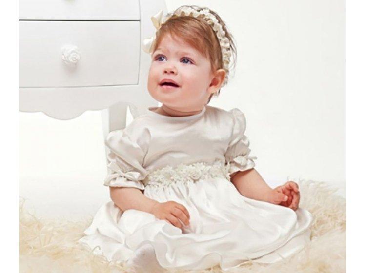 Платье Mimino baby. Элиза молочное