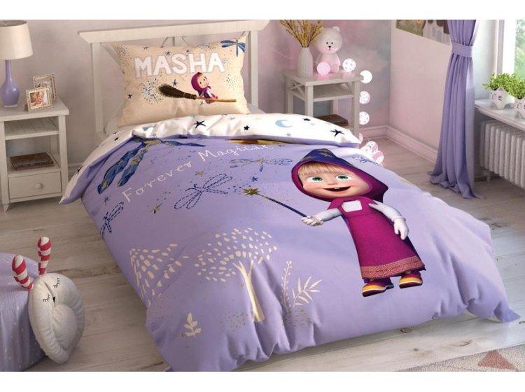 Подростковое постельное белье TAC. Маша и Медведь Magical