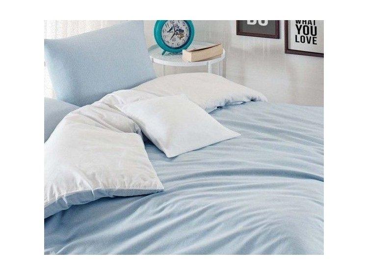 Постельное белье Eponj Home. Paint Mix A.mavi-Beyaz