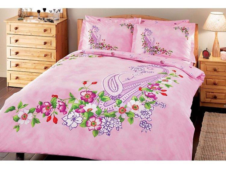Постельное белье Tac. Mayra pink