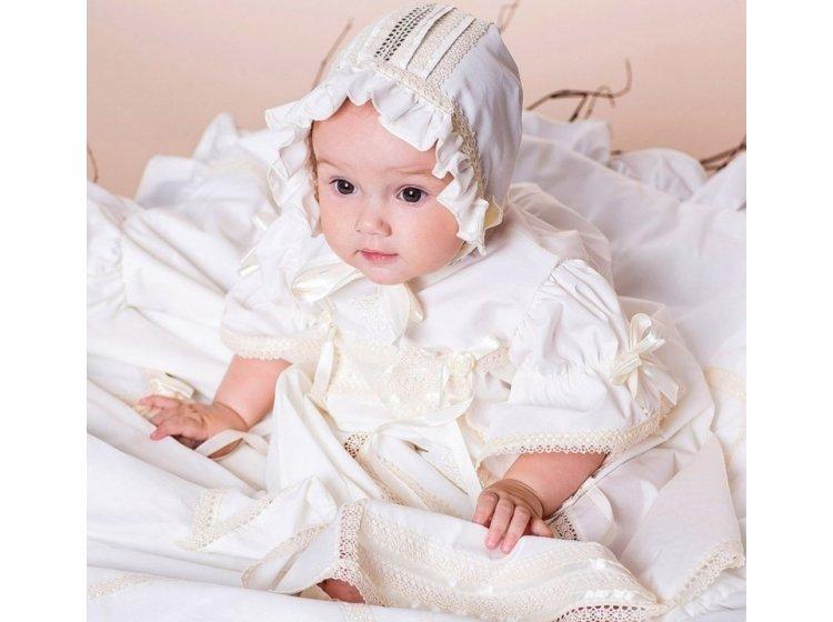 Платье Mimino baby. Винтажное молочное