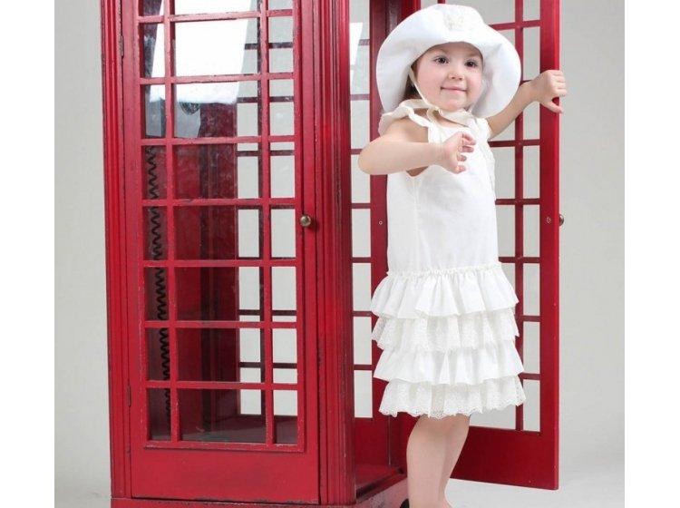 Платье Mimino baby. Зарина белое