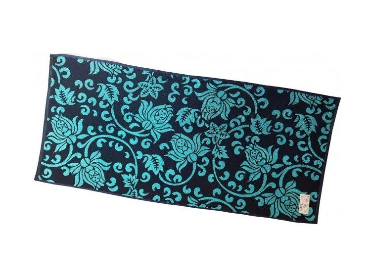 Махровое полотенце Речицкий текстиль. PLAZA синее