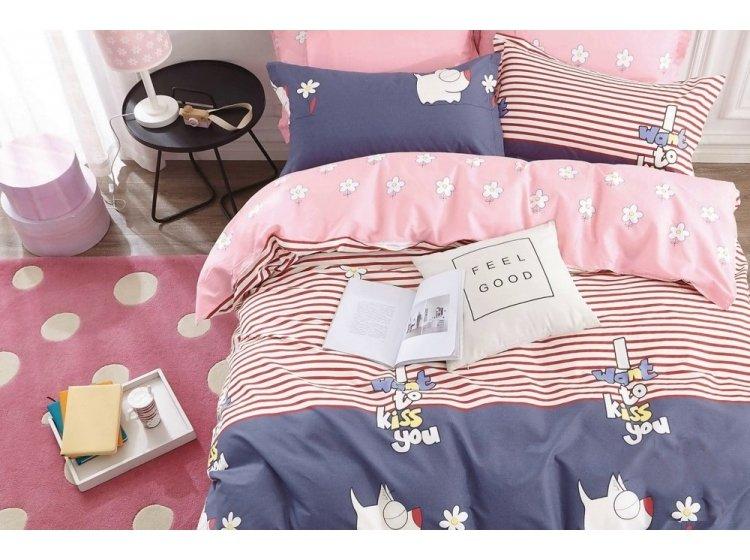 Подростковое постельное белье  Viluta. Сатин Твил 328
