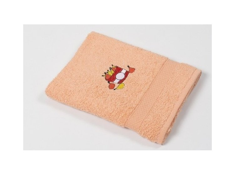 Полотенце кухонное Lotus. Sun Twinkle оранжевое