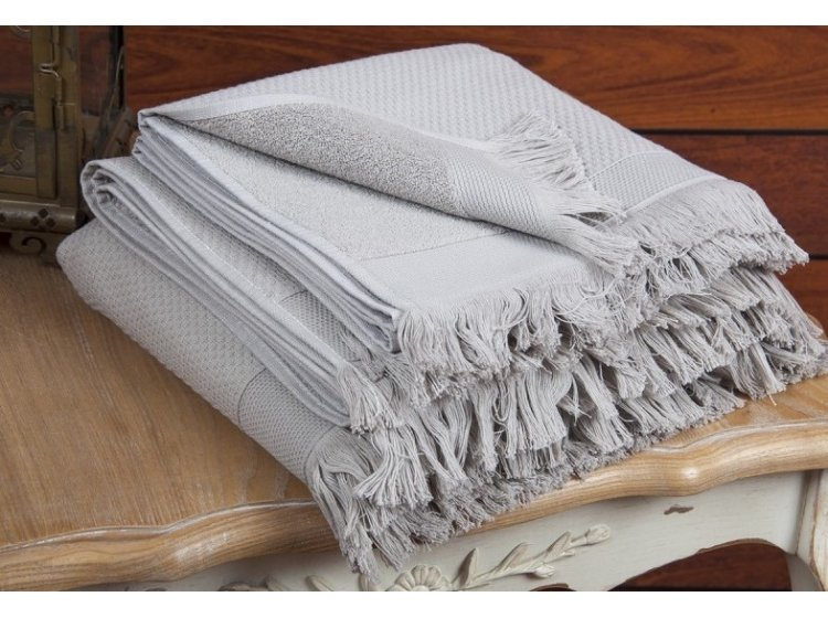 Махровое полотенце Buldans. Siena Stone