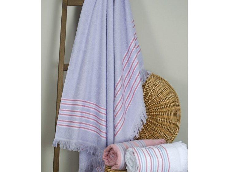 Пляжное полотенце Barine. Pestemal Escape Lilac