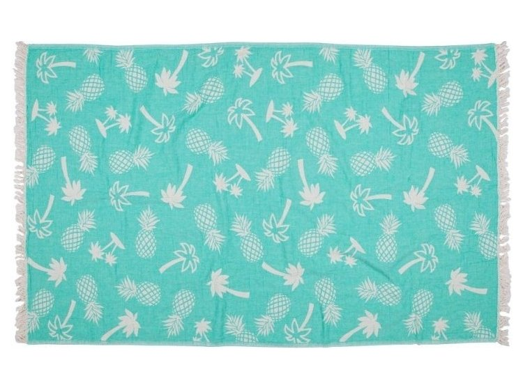 Пляжное полотенце Barine. Pestemal Palmsprings Green