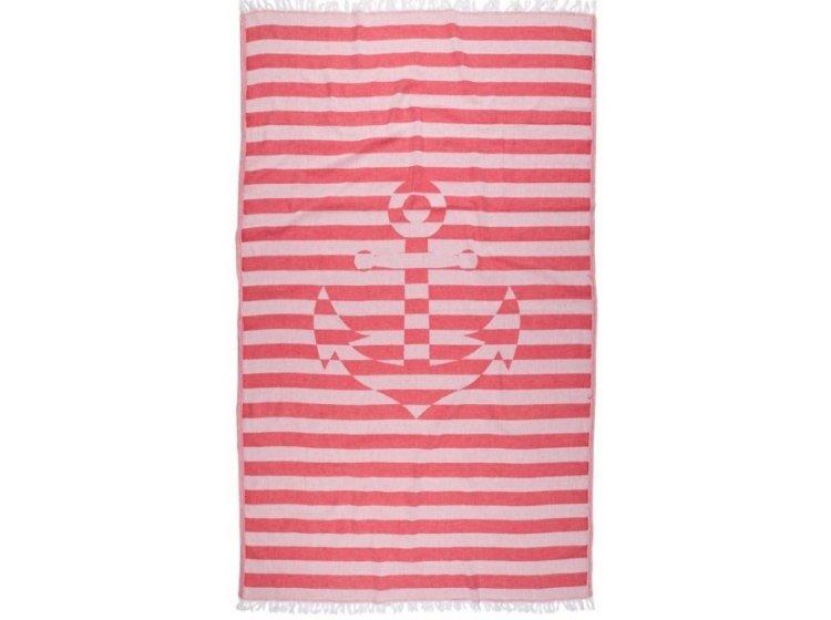 Пляжное полотенце Barine. Pestemal Undercover Anchor Red