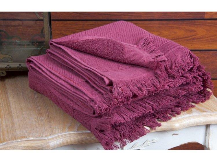 Махровое полотенце Buldans. Siena Sour Cherry