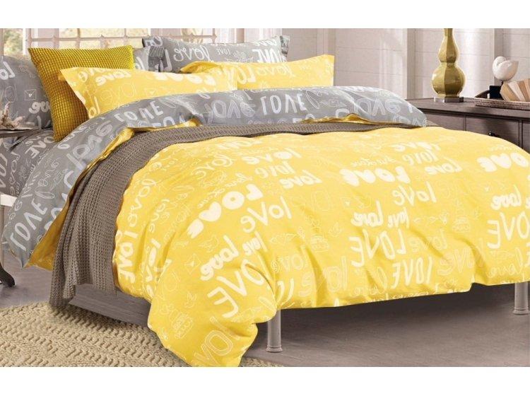 Постельное белье Viluta. 17148 желтое