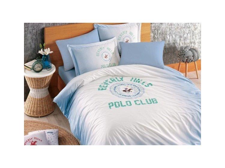 Постельное белье Beverly Hills Polo Club. 019 Blue