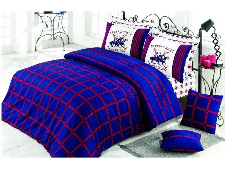 Постельное белье Beverly Hills Polo Club. 012 Dark Blue