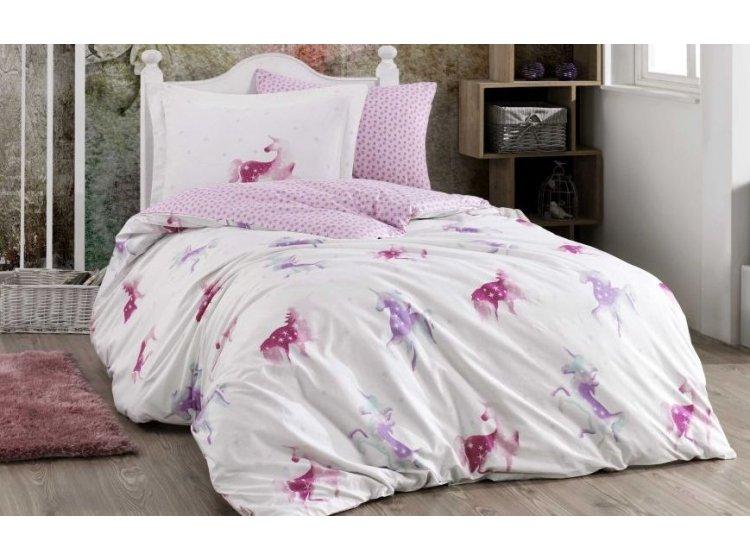 Подростковое постельное белье Hobby. Mia розовое