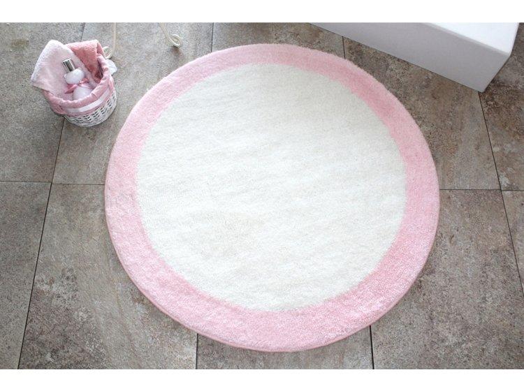 Коврик для ванной Chilai Home. RONDA PEMBE круглый