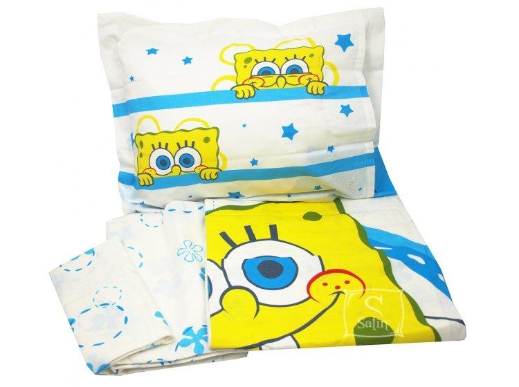 Постельное белье в детскую кроватку TAC. Sponge Bob Baby комплект