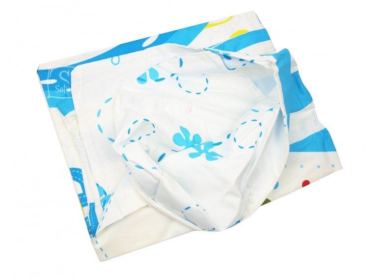 Постельное белье в детскую кроватку TAC. Sponge Bob Baby пододеяльник