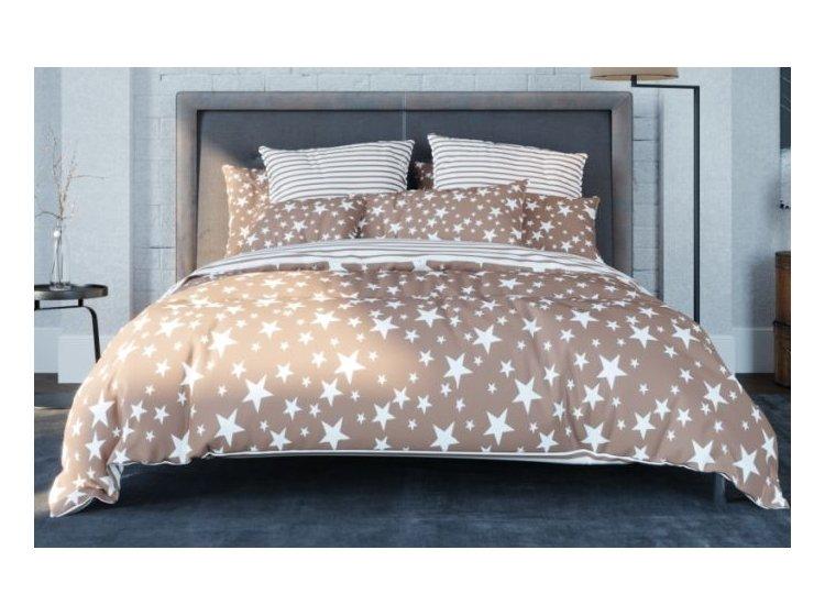 Постельное белье ТЕП Balakhome. 015 STAR BROWN