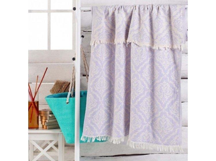 Пляжное полотенце Eponj Home. Jakarli Varak lila