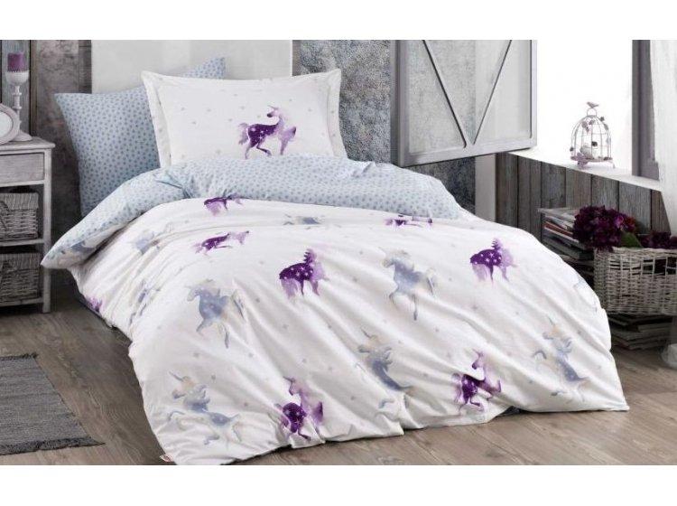 Подростковое постельное белье Hobby. Mia лиловое